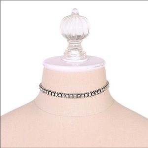 NWT ✨ Loren Hope Crystal Choker Necklace